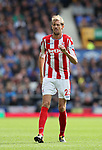 Stoke's Peter Crouch in action during the premier league match at Goodison Park, Liverpool. Picture date 12th August 2017. Picture credit should read: David Klein/Sportimage