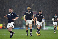 Richie Gray of Scotland. Rugby World Cup Quarter Final between Australia and Scotland on October 18, 2015 at Twickenham Stadium in London, England. Photo by: Patrick Khachfe / Onside Images