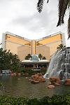 Mirage Hotel & Casino exterior.