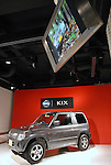 TOKYO - OCTOBER 30: Nissan Motor Corp unveiled its new small SUV Kix for the Japanese market, targeting male consumers in their 50s to 60s. (Photo by Taro Fujimoto/Japan Today/Nippon News)