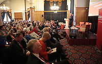 Labour Leader Jeremy Corbyn speaks at a Labour Party meeting in Sheffield, United Kingdom on 27 February 2016. Photo by Glenn Ashley/glennashley.org