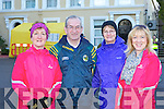 Sheila Curtin Knocknagoshel, Brendan and Angela Lynch Fossa and Mary Fitzgerald Currow at the Operation Transformation walk in Killarney on Saturday..