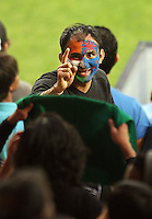 A fan in the stands during 2nd Twenty20 cricket match match between New Zealand Black Caps and West Indies at Westpac Stadium, Wellington, New Zealand on Friday, 27 February 2009. Photo: Dave Lintott / lintottphoto.co.nz