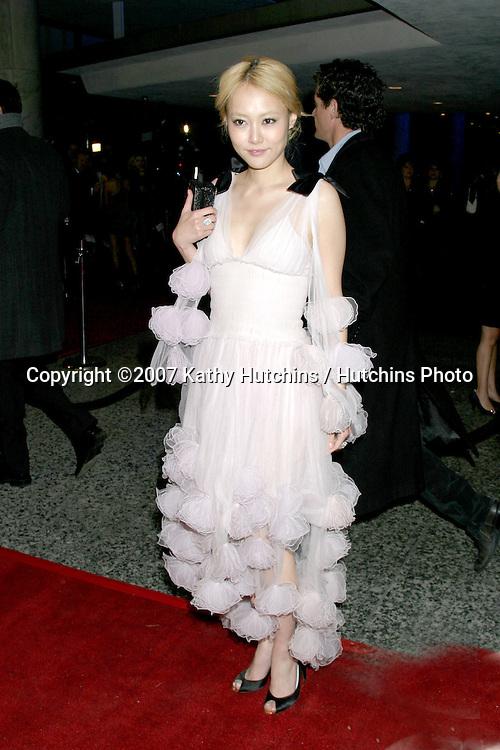 Rinko Kikuchi.Paramount Pictures Post Golden Globe Party.Beverly Hills,  CA.January 14, 2007.©2007 Kathy Hutchins / Hutchins Photo.
