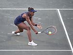 Sloane Stephens (USA) battles against Daria Gavrilova
