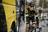 Niki Terpstra (NED/Direct Energie)<br /> <br /> 81st Gent-Wevelgem 'in Flanders Fields' 2019<br /> One day race (1.UWT) from Deinze to Wevelgem (BEL/251km)<br /> <br /> ©kramon