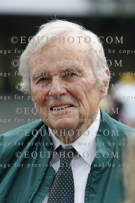 Former Treasury Secretary of the United States, Nicholas Brady at Monmouth Park in Oceanport, New Jersey..Photos by Bill Denver/EQUI-PHOTO.