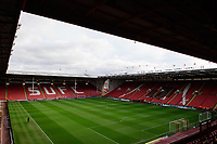 A general view of Bramall Lane, home of Sheffield United FC<br /> <br /> Photographer Chris Vaughan/CameraSport<br /> <br /> The EFL Sky Bet Championship - Sheffield United v Blackburn Rovers - Saturday 29th December 2018 - Bramall Lane - Sheffield<br /> <br /> World Copyright © 2018 CameraSport. All rights reserved. 43 Linden Ave. Countesthorpe. Leicester. England. LE8 5PG - Tel: +44 (0) 116 277 4147 - admin@camerasport.com - www.camerasport.com
