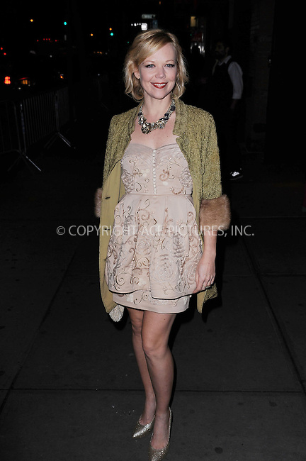 WWW.ACEPIXS.COM . . . . . .November 14, 2012...New York City....Emily Bergl attends a screening of Summit Entertainments The Twilight Saga Breaking Dawn Part 2 at Sunshine Landmark Theater on November 14, 2012 in New York City. ....Please byline: KRISTIN CALLAHAN - WWW.ACEPIXS.COM.. . . . . . ..Ace Pictures, Inc: ..tel: (212) 243 8787 or (646) 769 0430..e-mail: info@acepixs.com..web: http://www.acepixs.com .