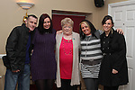 Olive Judge with her family at her birthday party in Harrys...(Photo credit should read Jenny Matthews www.newsfile.ie)....This Picture has been sent you under the conditions enclosed by:.Newsfile Ltd..The Studio,.Millmount Abbey,.Drogheda,.Co Meath..Ireland..Tel: +353(0)41-9871240.Fax: +353(0)41-9871260.GSM: +353(0)86-2500958.email: pictures@newsfile.ie.www.newsfile.ie.