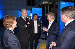 Brussels-Belgium - January 24,  2012 -- 'Our Blue Future' - exhibition at the European Parliament by KDM (Konsortium Deutsche Meeresforschung / German Maritime Research Consortium); here, opening with: Prof. Karin LOCHTE (le), KDM Chair; Prof. Peter HERZIG (2.le), KDM Deputy Chair; Dr. Gerd HOFFMANN-WIECK (ce), GEOMAR; Frank SCHAETZING (2.ri)(Schätzing, Schatzing), author, keynote speaker; MEP Reimer BOEGE (ri)(Böge, Boge) -- Photo: © HorstWagner.eu