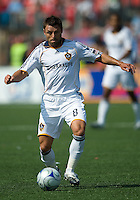 06 June 2009: Los Angeles Galaxy midfielder Dema Kovalenko #8 in MLS action at BMO Field Toronto in a game between LA Galaxy and Toronto FC. .The Galaxy  won 2-1.