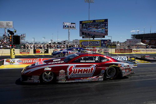 01.04.2016. Las Vegas, Nevada, USA. Action from the DENSO Spark Plugs NHRA Nationals at The Strip at Las Vegas Motor Speedway in Las Vegas, NV.