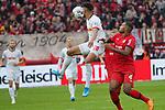 05.10.2019, BayArena, Leverkusen, GER, 1. FBL, Bayer 04 Leverkusen vs. RB Leipzig,<br />  <br /> DFL regulations prohibit any use of photographs as image sequences and/or quasi-video<br /> <br /> im Bild / picture shows: <br /> Kopfball durch Matheus Cunha (RB Leipzig #20),  gegen Jonathan Tah (Leverkusen #4), <br /> <br /> Foto © nordphoto / Meuter