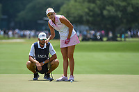 Lexi Thompson (USA) looks over her putt on 4 during round 3 of the 2019 US Women's Open, Charleston Country Club, Charleston, South Carolina,  USA. 6/1/2019.<br /> Picture: Golffile | Ken Murray<br /> <br /> All photo usage must carry mandatory copyright credit (© Golffile | Ken Murray)