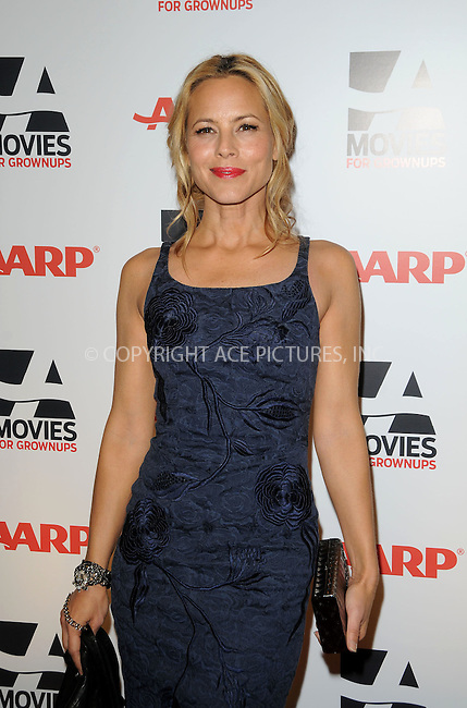 WWW.ACEPIXS.COM . . . . . ....February 7 2011, LA....Actress Maria Bello arriving at the AARP Magazine 10th Annual Movies For Grownups Awards at the Beverly Wilshire Four Seasons Hotel on February 7, 2011 in Beverly Hills, CA....Please byline: PETER WEST - ACEPIXS.COM....Ace Pictures, Inc:  ..(212) 243-8787 or (646) 679 0430..e-mail: picturedesk@acepixs.com..web: http://www.acepixs.com