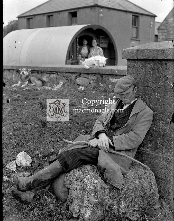 Puck Fair in the 1950's.<br /> Picture by Harry MacMonagle<br /> <br /> <br /> e: info@macmonagle.com