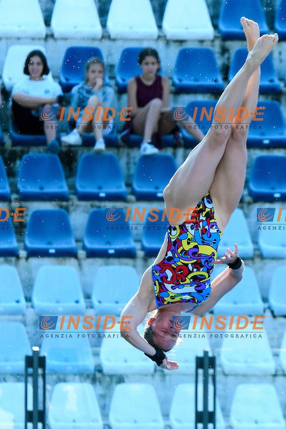 Noemi Batki <br /> 10m Piattaforma Donne <br /> Roma 20-06-2016 Stadio del Nuoto Foro Italico Tuffi Campionati Italiani <br /> Foto Andrea Staccioli Insidefoto