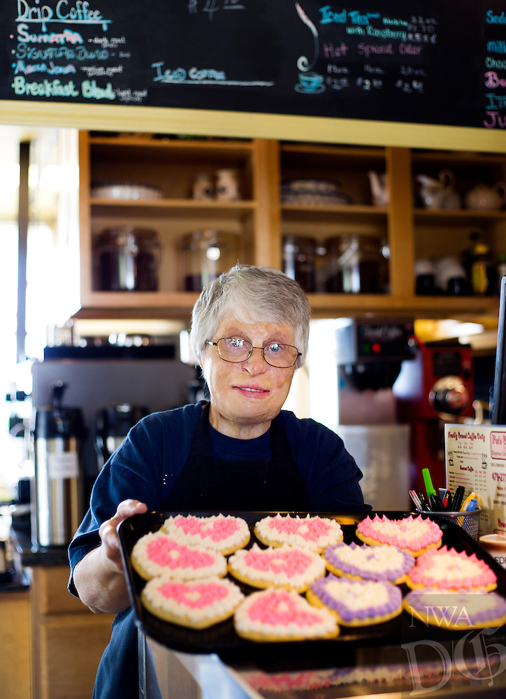 NWA Democrat-Gazette/JASON IVESTER<br /> Pat Bullard, owner of Pat's Bakery in Bentonville; photographed on Wednesday, Jan. 25, 2017, for nwprofiles