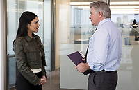 Vanessa Hudgens &amp; Treat Williams<br /> Second Act (2018) <br /> *Filmstill - Editorial Use Only*<br /> CAP/RFS<br /> Image supplied by Capital Pictures