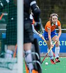 HUIZEN - Hockey - Carmel Bosch (Bldaal) . Hoofdklasse hockey competitie, Huizen-Bloemendaal (2-1) . COPYRIGHT KOEN SUYK