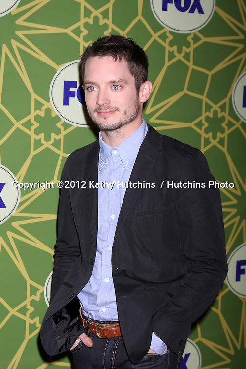 LOS ANGELES - JAN 8:  Elijah Wood arrives at the Fox TCA Party - Winter 2012 at Castle Green on January 8, 2012 in Pasadena, CA