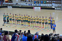 World Floorball Championships 2017 Qualification for Asia Oceania Region Final - Australia v Japan at ASB Sports Centre , Wellington, New Zealand on Sunday 5 February 2017.<br /> Photo by Masanori Udagawa<br /> www.photowellington.photoshelter.com.