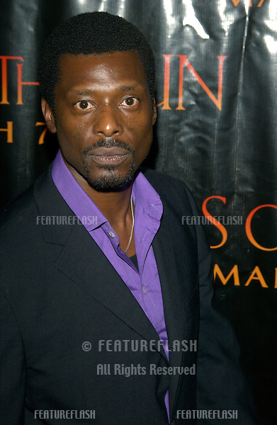 Actor EAMONN WALKER at the Los Angeles premiere of his new movie Tears of the Sun..03MAR2003.  © Paul Smith / Featureflash