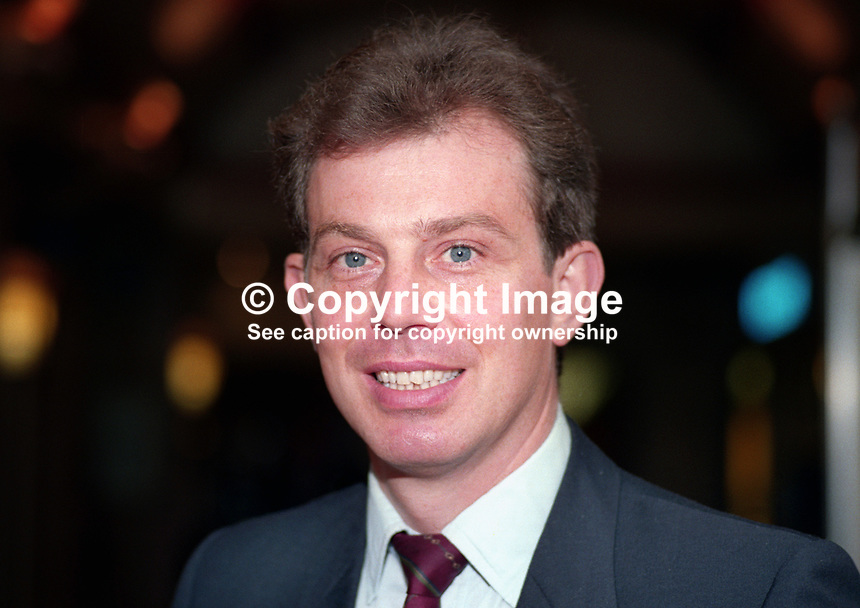 Tony Blair, MP, Labour Party, UK, 1990101008.<br />