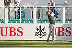 Robert Rock of England tees off the first hole during the 58th UBS Hong Kong Open as part of the European Tour on 08 December 2016, at the Hong Kong Golf Club, Fanling, Hong Kong, China. Photo by Marcio Rodrigo Machado / Power Sport Images