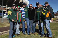 Fans during the 2018 Castle Lager Incoming Series 2nd Test match between South Africa and England at the Toyota Stadium.Bloemfontein,South Africa. 16,06,2018 Photo by Steve Haag / stevehaagsports.com