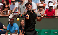 GRIGOR DIMITROV (BUL)<br /> <br /> TENNIS - FRENCH OPEN - ROLAND GARROS - ATP - WTA - ITF - GRAND SLAM - CHAMPIONSHIPS - PARIS - FRANCE - 2017  <br /> <br /> <br /> <br /> &copy; TENNIS PHOTO NETWORK