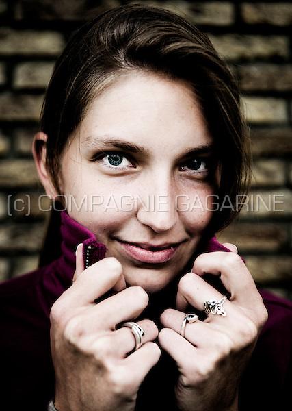 Young artist and designer Margot Indesteege (Belgium, 01/06/2010)