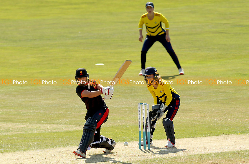 Jo Gardner of Sunrisers in batting action during Sunrisers vs South East Stars, Rachael Heyhoe Flint Trophy Cricket at The Cloudfm County Ground on 13th September 2020