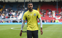 Blackburn Rovers' Dominic Samuel during the pre-match warm-up <br /> <br /> Photographer Rachel Holborn/CameraSport<br /> <br /> The EFL Sky Bet League One - Blackburn Rovers v Doncaster Rovers - Saturday August 12th 2017 - Ewood Park - Blackburn<br /> <br /> World Copyright &copy; 2017 CameraSport. All rights reserved. 43 Linden Ave. Countesthorpe. Leicester. England. LE8 5PG - Tel: +44 (0) 116 277 4147 - admin@camerasport.com - www.camerasport.com