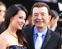 HOLLYWOOD, LOS ANGELES, CA, USA - JUNE 01: Lucy Liu, James Hong at the 12th Annual Huading Film Awards held at the Montalban Theatre on June 1, 2014 in Hollywood, Los Angeles, California, United States. (Photo by Xavier Collin/Celebrity Monitor)