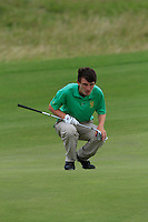 Sean Doyle (Athlone) on the 14th during Round 3 of The South of Ireland in Lahinch Golf Club on Monday 28th July 2014.<br /> Picture:  Thos Caffrey / www.golffile.ie