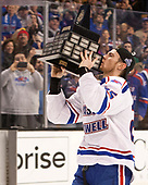 Dylan Zink (UML - 25) The University of Massachusetts-Lowell River Hawks defeated the Boston College Eagles 4-3 to win the 2017 Hockey East tournament at TD Garden on Saturday, March 18, 2017, in Boston, Massachusetts.