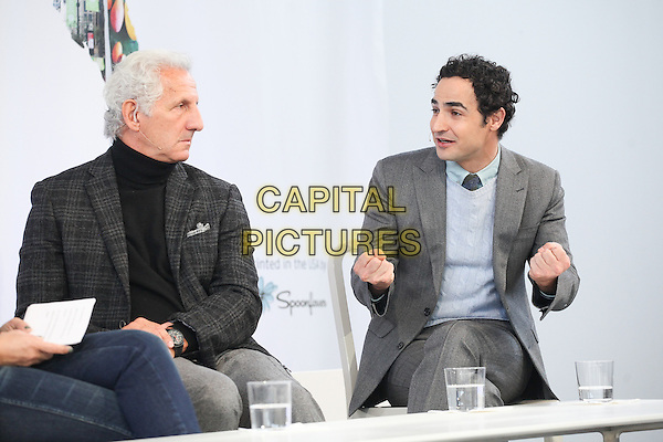 NEW YORK, NY - OCTOBER 22: Joseph Abboud and Zac Posen attend Martha Stewart&rsquo;s American Made Summit on October 22, 2016 in New York City.  <br /> CAP/MPI/DIE<br /> &copy;DIE/MPI/Capital Pictures