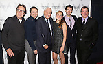Larry Pine, Vincent Kartheiser, Garry Marshall, Sophie von Haselberg, Drew Gehling and Mike Bencivenga attend the Off-Broadway opening Night Performance After Party for 'Billy & Ray' at the Vineyard Theatre on October 20, 2014 in New York City.