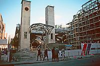 London:  Liverpool St. Station--undergoing rebuilding, Jan. '90.