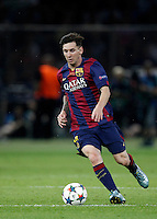 Calcio, finale di Champions League Juventus vs Barcellona all'Olympiastadion di Berlino, 6 giugno 2015.<br /> FC Barcelona's Lionel Messi in action during the Champions League football final between Juventus Turin and FC Barcelona, at Berlin's Olympiastadion, 6 June 2015. Barcelona won 3-1.<br /> UPDATE IMAGES PRESS/Isabella Bonotto