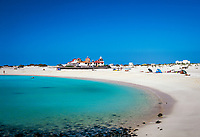 Spanien, Kanarische Inseln, Fuerteventura, Cotillo: Playa los Lagos, Strand   Spain, Canary Island, Fuerteventura, Cotillo: Playa los Lagos, beach
