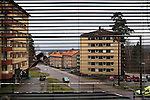 View from a window of a Syrian refugee in Fagersta, Sweden, Nov. 2, 2014. Some Syrian refugees chose Sweden because it has generous social services and is open-minded.