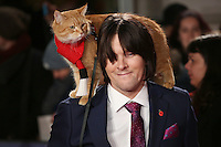 at the Premiere of &quot;A Street Cat Named Bob&quot;, Curzon Mayfair, London.<br /> <br /> <br /> &copy;Ash Knotek  D3194  03/11/2016