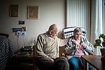 le 3 juillet 2013, Les chambres de Marcelle et jean-noel  sont voisines. Ils se retrouvent souvant l'un chez l'autre pour lire, tricoter, écouter de la musique ou voir même danser. Guipavas (29)