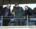 19.01.2020, OLympiastadion, Berlin, GER, DFL, 1.FBL, Hertha BSC VS. Bayern Muenchen, <br /> DFL  regulations prohibit any use of photographs as image sequences and/or quasi-video<br /> im Bild Bundestrainer Jogi Loew<br /> <br />       <br /> Foto © nordphoto / Engler