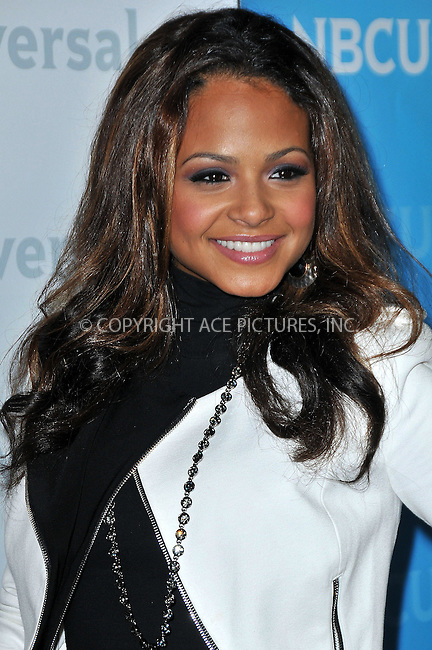 WWW.ACEPIXS.COM . . . . .  ..... . . . . US SALES ONLY . . . . .....January 6 2012, LA....Christina Milian at the NBC Winter TCA Party on January 6 2011 in Los Angeles....Please byline: FAMOUS-ACE PICTURES... . . . .  ....Ace Pictures, Inc:  ..Tel: (212) 243-8787..e-mail: info@acepixs.com..web: http://www.acepixs.com