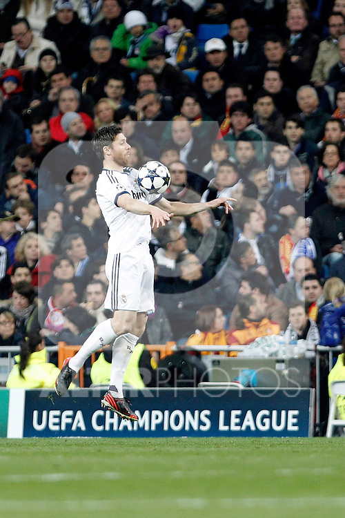 Real Madrid's Xabi Alonso during the quarter final Champion League match. April 3, 2013.(ALTERPHOTOS/Alconada)