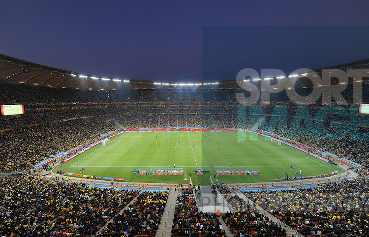 General view of Soccer City Johannesburg during the first match of the FIFA 2010 World Cup